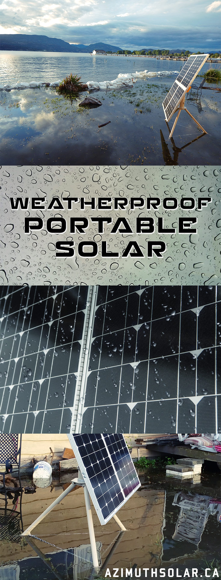 We're Weatherproofing Portable Solar