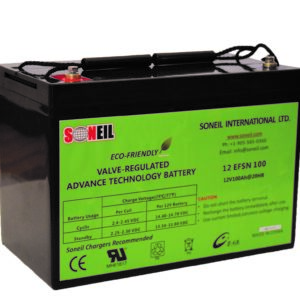 12V 100Ah SiO2 Battery