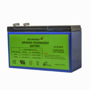 9 Amp hour battery