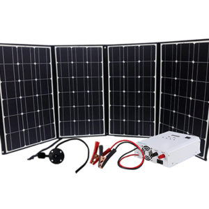 210W Folding Solar Panel Kit for RVs, Cabins & Cottages