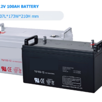12V 200Ah Azimuth Solar Lead Carbon Battery 3200 cycles @ 50% DOD