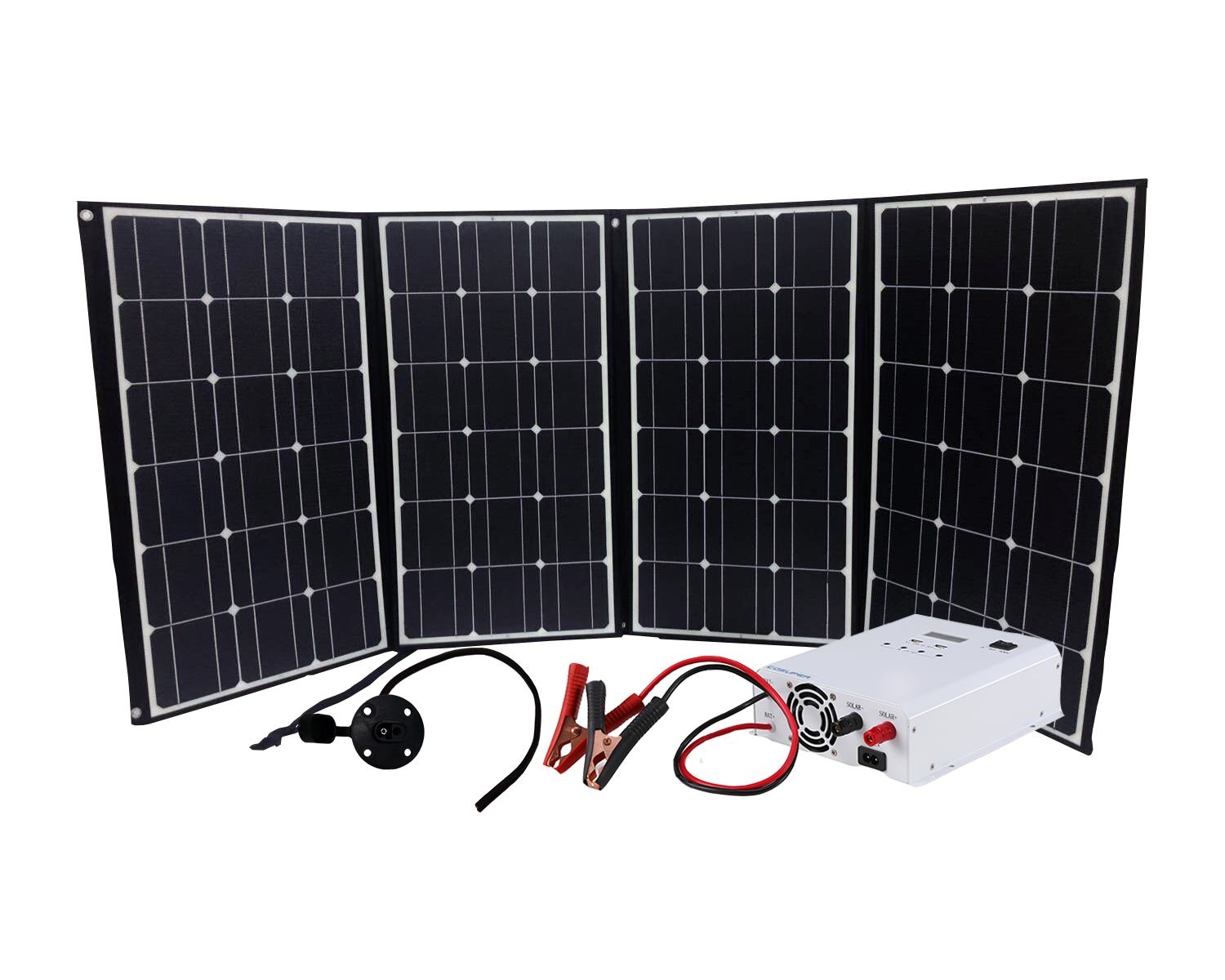 Rv Solar Kit Lightweight Folding 210w Solar Generator